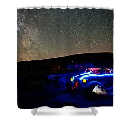 Back To Life Shower Curtain