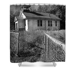 Shower Curtain featuring the photograph Back To School by Brian Duram