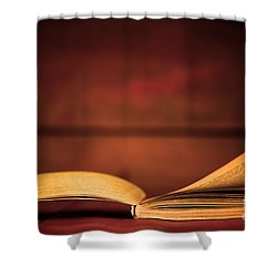 Back To School Shower Curtain by Michal Bednarek