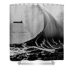 Backwash Shower Curtain