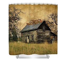 Backwoods Cabin Shower Curtain