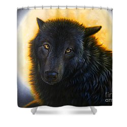 Bad Girls Have Halos Too Shower Curtain
