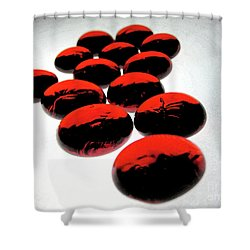 Bad Love Shower Curtain by Molly McPherson