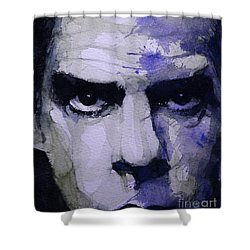 Bad Seed Shower Curtain by Paul Lovering
