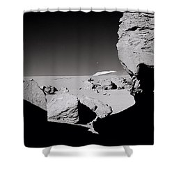 The Earth Shower Curtain by Shaun Higson