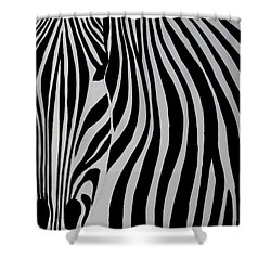 Badzebra Shower Curtain