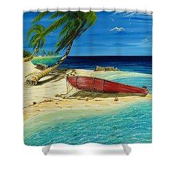 Bahama Beach Shower Curtain by Steve Ozment