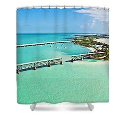 Bahia Honda Shower Curtain by Patrick M Lynch