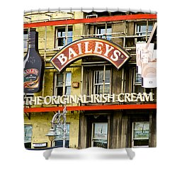 Baileys Irish Cream Shower Curtain