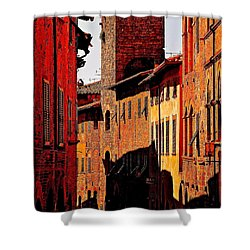 Baked In The Tuscan Sun Shower Curtain by Ira Shander