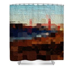 Baker Beach Shower Curtain