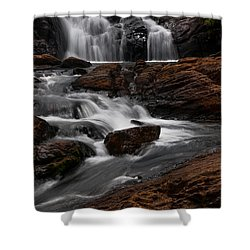 Bakers Fall IIi. Horton Plains National Park. Sri Lanka Shower Curtain by Jenny Rainbow