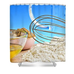 Baking Shower Curtain by Elena Elisseeva