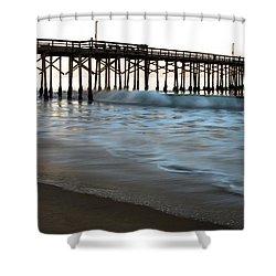 Balboa Pier  Shower Curtain