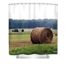 Bales In Solebury Shower Curtain