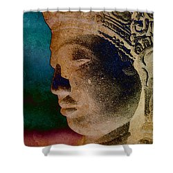 Balinese 3 Shower Curtain