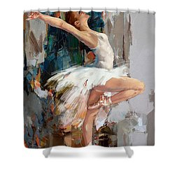 Ballerina 22 Shower Curtain