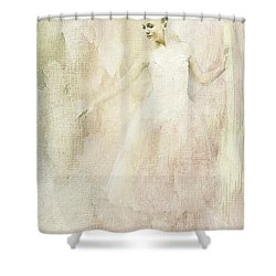 Ballerina Shower Curtain by Linda Blair