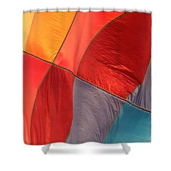Balloon Colors Shower Curtain by Art Block Collections