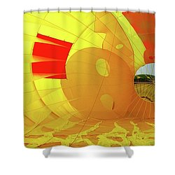 Shower Curtain featuring the photograph Balloon Fantasy 6 by Allen Beatty