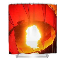 Balloon-glow-7917 Shower Curtain by Gary Gingrich Galleries