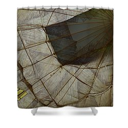 Shower Curtain featuring the photograph Balloon Graphic by Nadalyn Larsen
