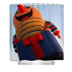 Balloon-jack-7660 Shower Curtain by Gary Gingrich Galleries