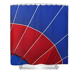 Balloon Patterns Shower Curtain by Art Block Collections