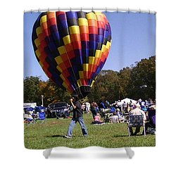 Balloon Rides Shower Curtain