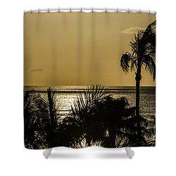 Balmy Beach Shower Curtain