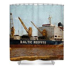 Baltic Moon 2 Shower Curtain