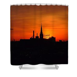 Baltimore Dawn Shower Curtain by Robert Geary