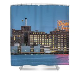 Baltimore Domino Sugars Plant I Shower Curtain