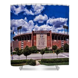 Baltimore Memorial Stadium 1960s Shower Curtain