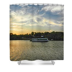 Bama Belle Sunset Shower Curtain