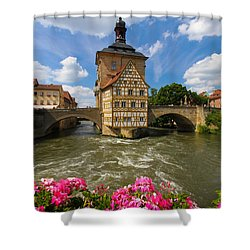 Bamberg Bridge Shower Curtain