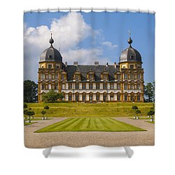 Bamberg Castle - Germany Shower Curtain by Gary Grayson
