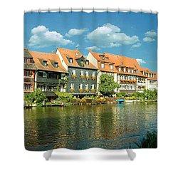 Bamberg Little Venice 1 Shower Curtain
