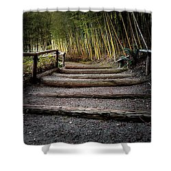 Bamboo Garden Shower Curtain
