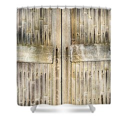 Bamboo Gates Shower Curtain by Alexander Senin
