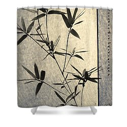 Bamboo Leaves Shower Curtain