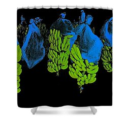 Shower Curtain featuring the photograph Banana Art by Rudi Prott