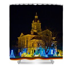 Bandera County Courthouse Shower Curtain