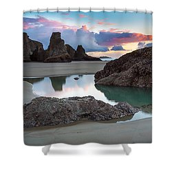 Bandon By The Sea Shower Curtain by Robert Bynum