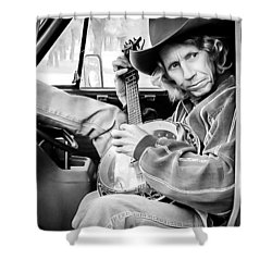 Banjo Man Shower Curtain