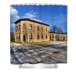 Bank Of Glen Jean Shower Curtain by Dan Friend