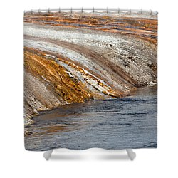 Bank Of Iron Spring Creek Shower Curtain