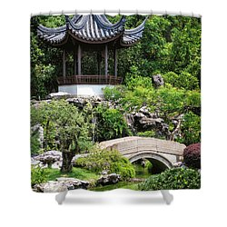 Bansi Garden Shower Curtain by John Swartz