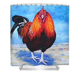 Bantam Rooster Shower Curtain