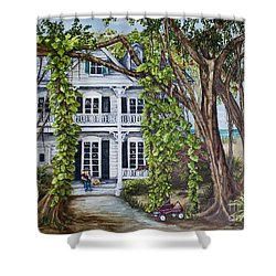 Banyan Beach House Shower Curtain